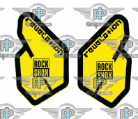 Rock Shox Revelation 2011 Decals